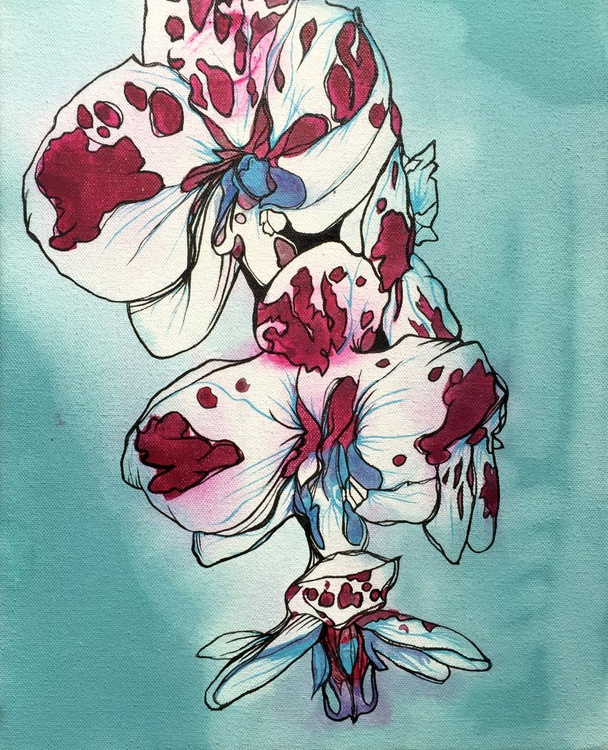 Orchid Study 002 - Image 0
