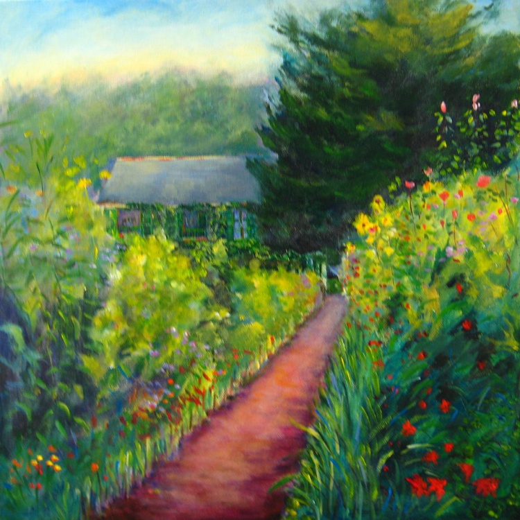 Pathway to Monet`s House - Image 0