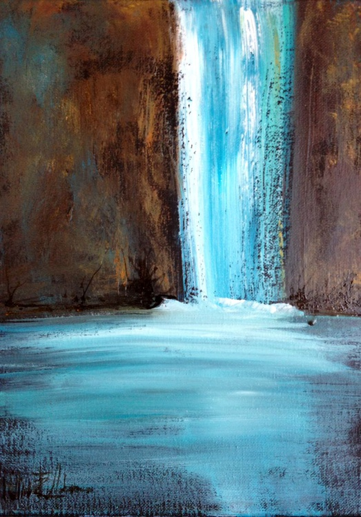 Somber Waterfall - Image 0