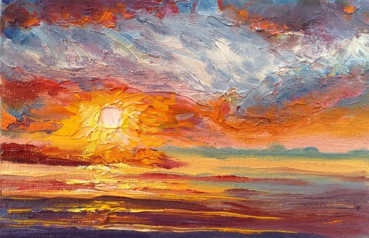 Bright sunset - Image 0