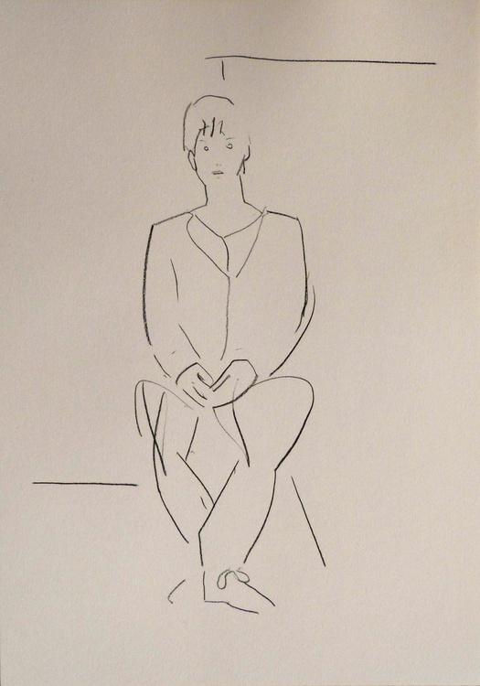 January #5, life drawing 29x42 cm - Image 0