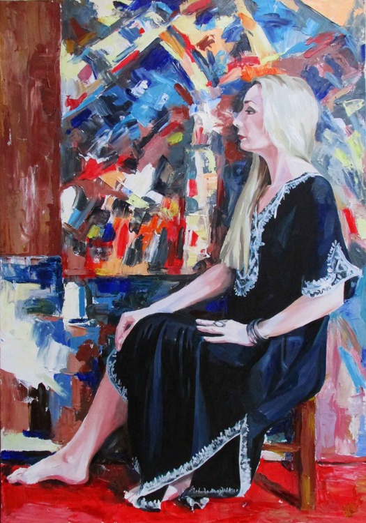 Portrait of artist - Image 0