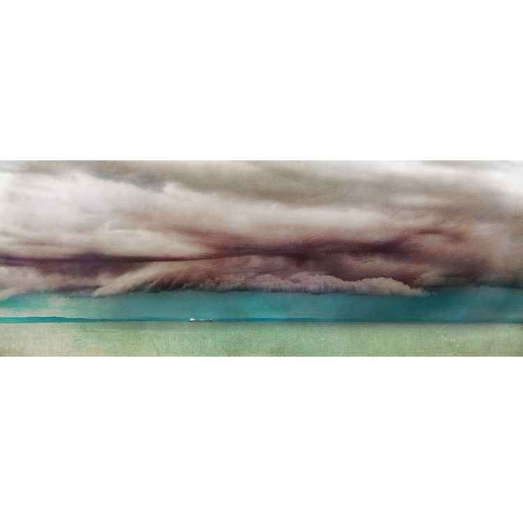 "Firth of Forth, near Edinburgh. Large Giclee Print of  ""Strange Day"".  Scotland"