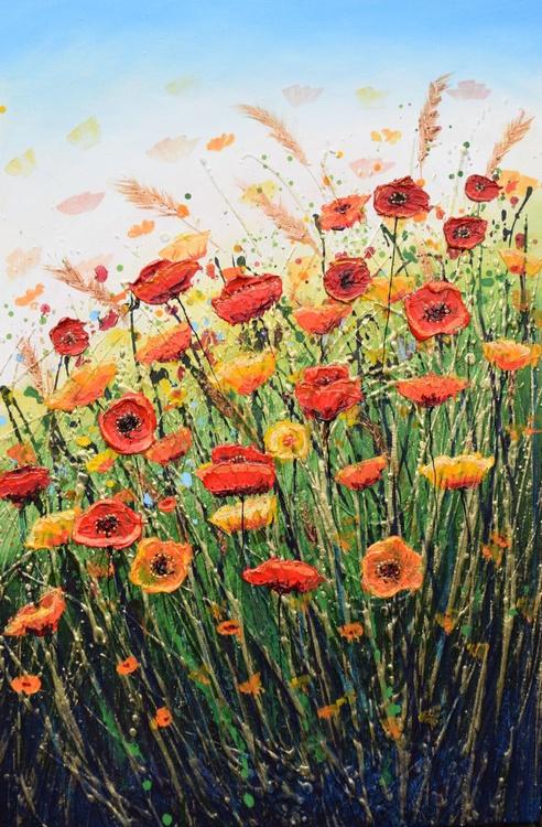 Happy Welsh Poppies - Image 0