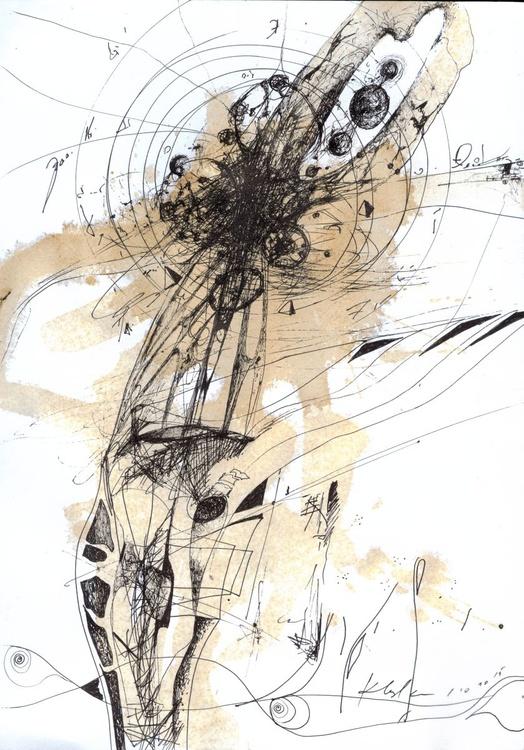 STILL LIFE LIKE UNIVERSE EXPLOSION ONIRIC ART SUBLIME ABSTRACTION BY KLOSKA ROMANIAN MASTER - Image 0