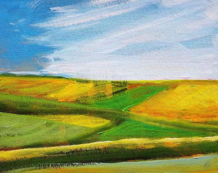 Sunny Fields No.3