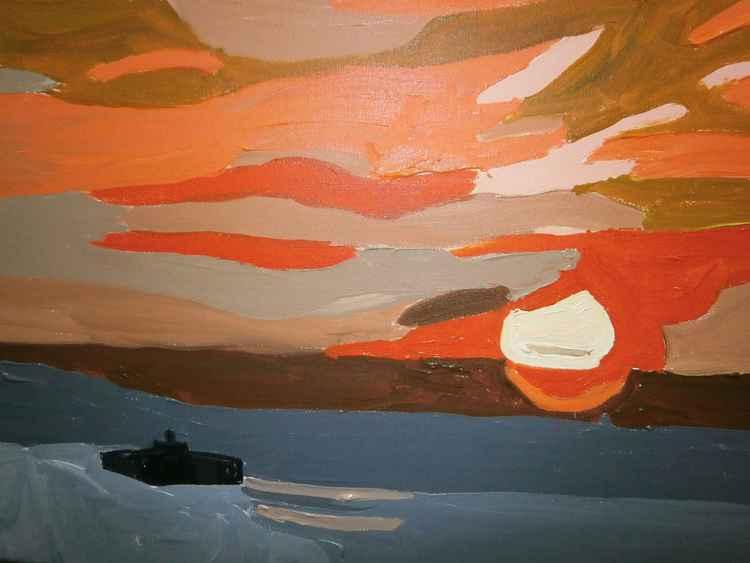 Herne Bay sunset -