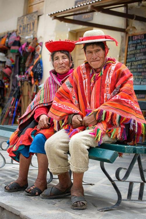 Urubamba Couple 2 (Peru)  - Limited Edition Print - Image 0