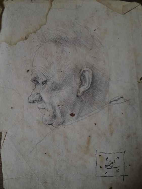Bar Sketch on 600 y/o Paper: #2