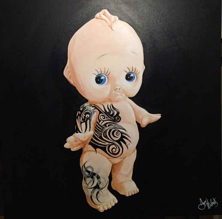 Tattooed Kewpie -
