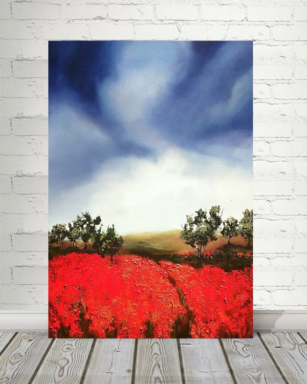 Blooming of red - Image 0