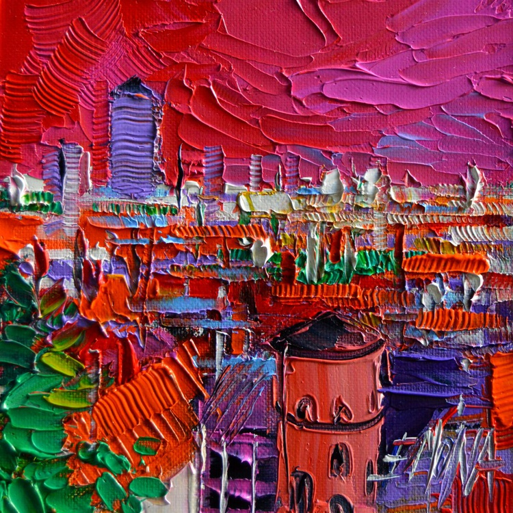 Lyon view in Pink - Image 0