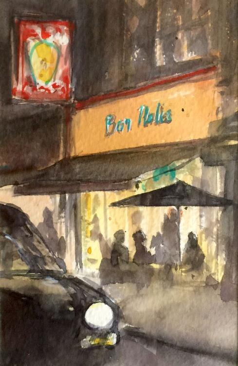 Bar Italia, Soho. - Image 0