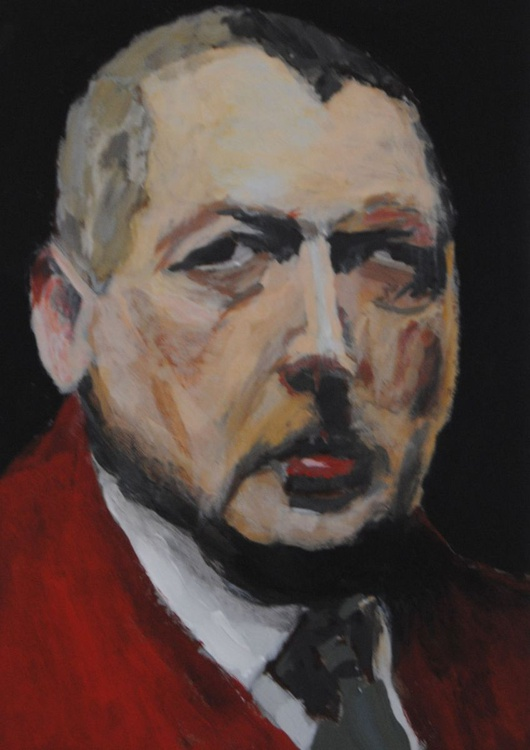 Portrait of Anders Zorn in the style of Zorn - Image 0