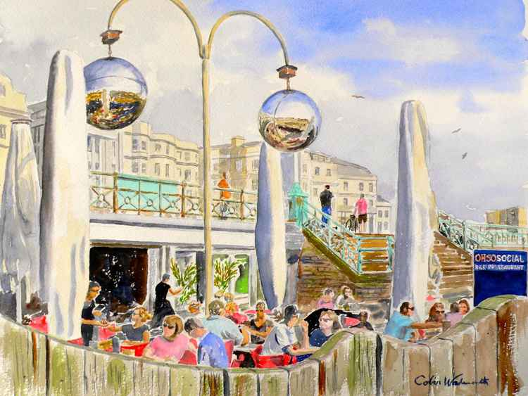 Brighton beach cafe -