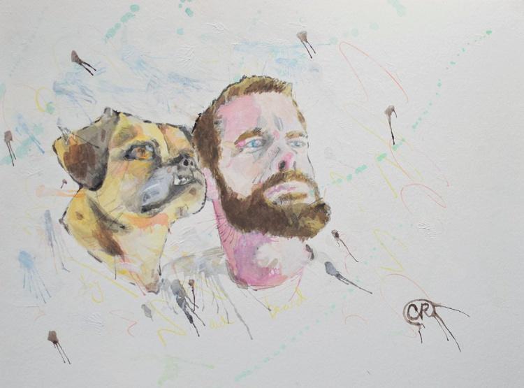 Pug and Beard - Image 0