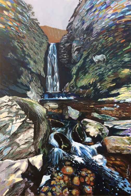 Glenevin Waterfall -