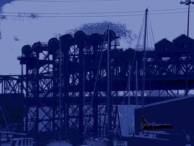 Lift Bridges & Boat Masts, Calumet River