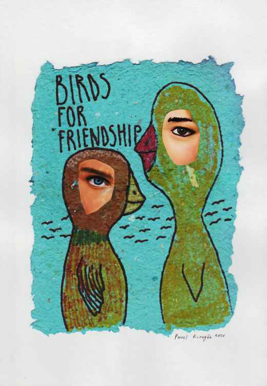 Birds for friendship -