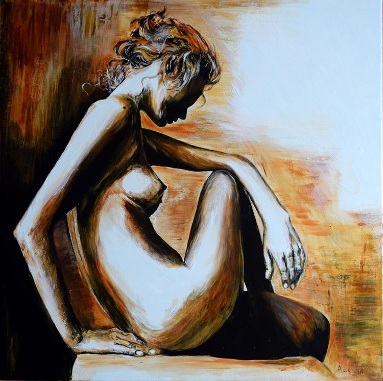 The nude / 60 cm x 60 cm - Image 0