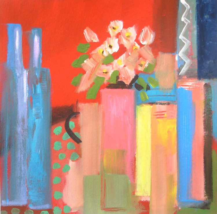 Still Life with 2 Bottles - Image 0