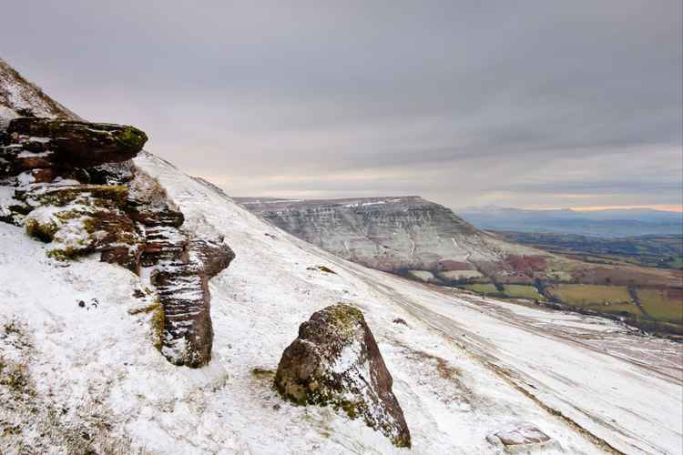 Lord Hereford's Knob from Hay Bluff -
