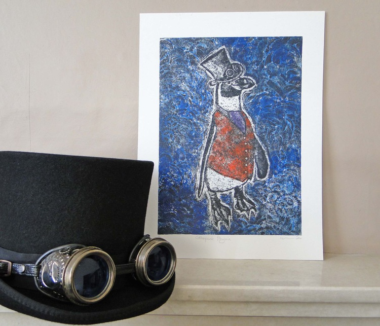 Steampunk Penguin - Image 0