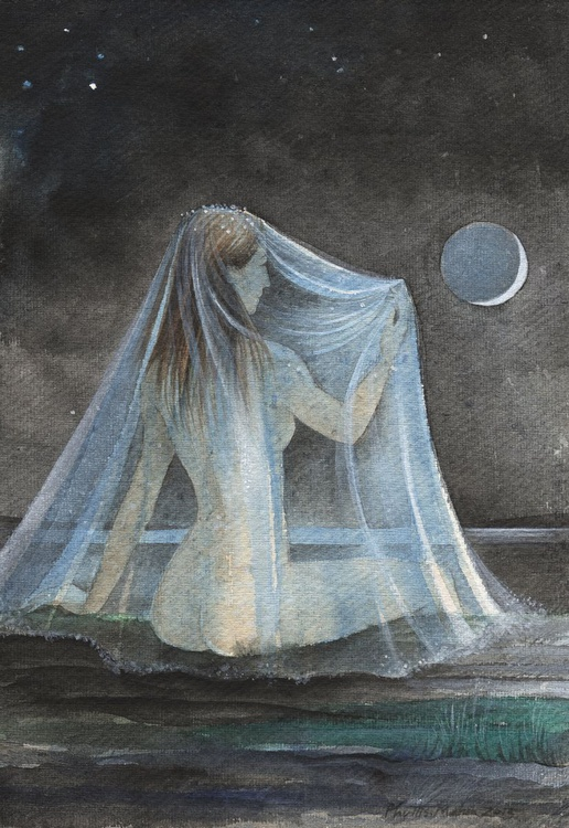 Waiting by a new blue moon - Image 0