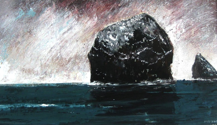 Incoming Weather at Stac Lee, St Kilda - Image 0