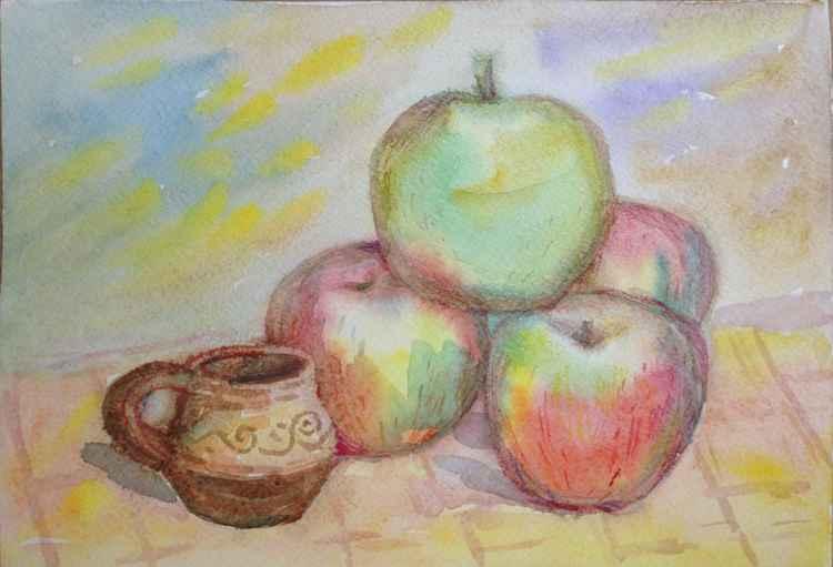 Apples. Autumn.