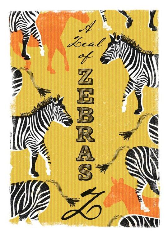 Z - a Zeal of Zebras