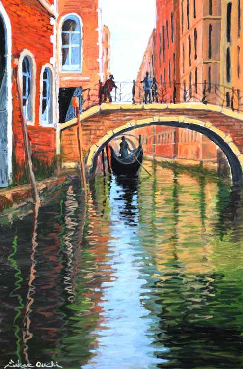 Venice Water Canal -1
