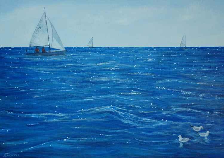 Lyme Bay sailing -