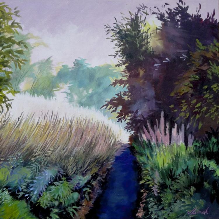 Rosebay Willowherb Misty Morning - Image 0