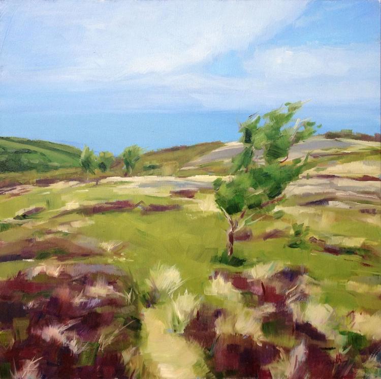 Exmoor - A glimpse of the sea - Image 0