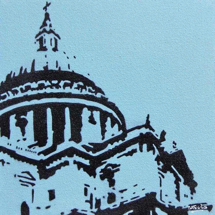 St Pauls blue - Image 0