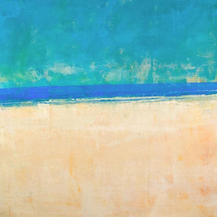 Summer Beach 30x30 inches - Image 0