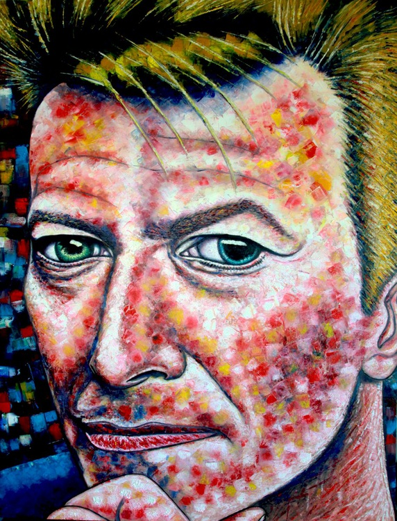 """Changes"" - David Bowie tribute portrait - Image 0"