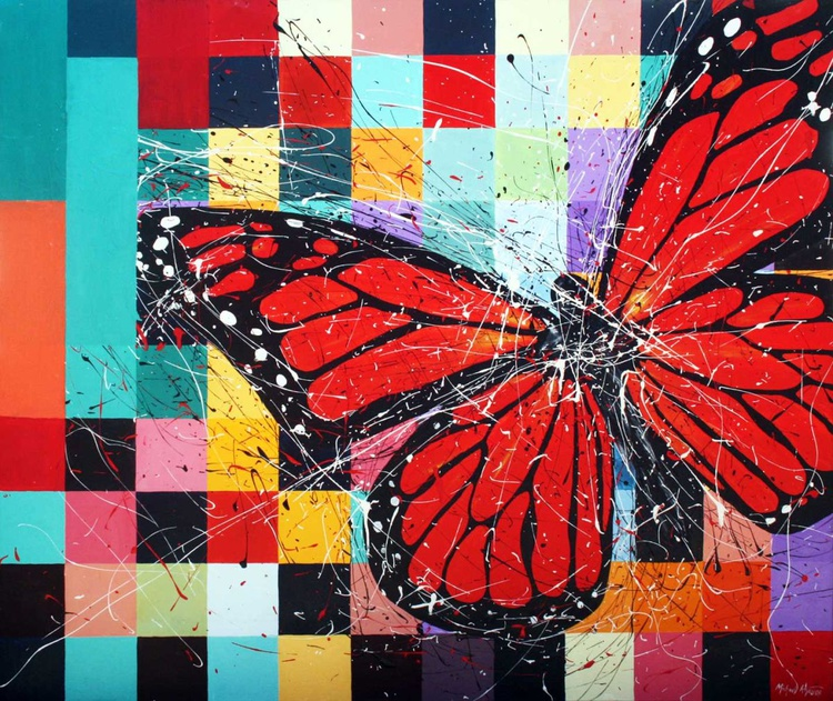 red butterfly - Image 0