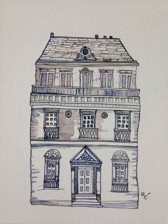 Old house Sketch -