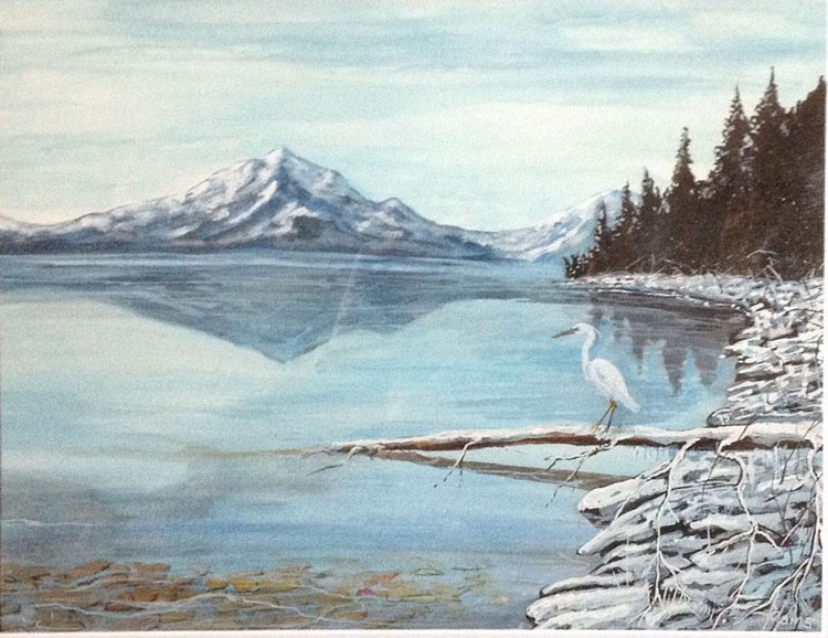 """ Placid Winter Blue "" - Image 0"