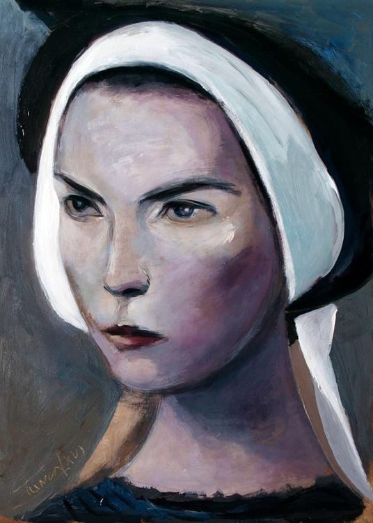 sister Marianne (woman portrait, figure study) - Image 0