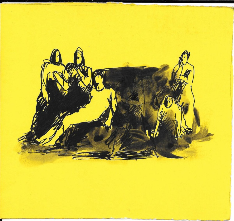 Fainting 2, 16x15 cm - Image 0