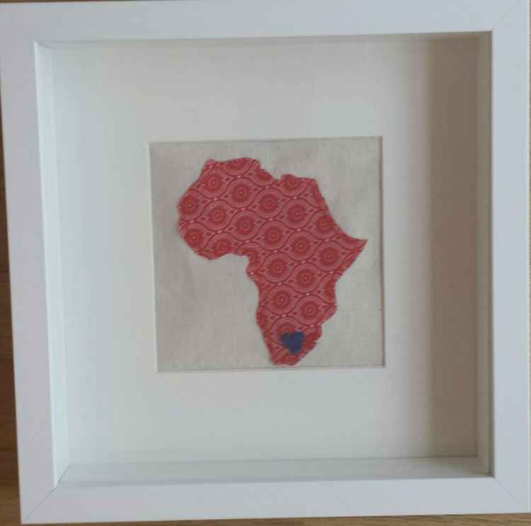 Africa (red) -