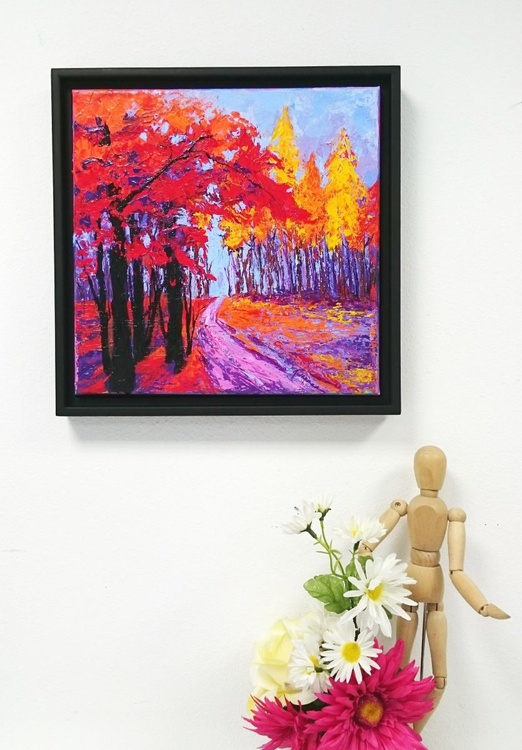 Path Within | Enchanted Forest Collection Landscape Painting - Image 0