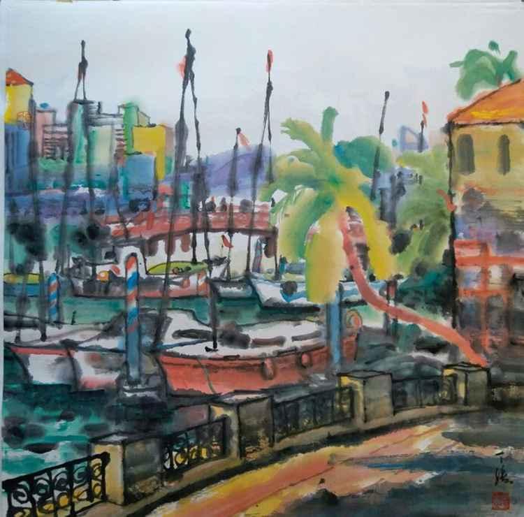 Scenery of Port