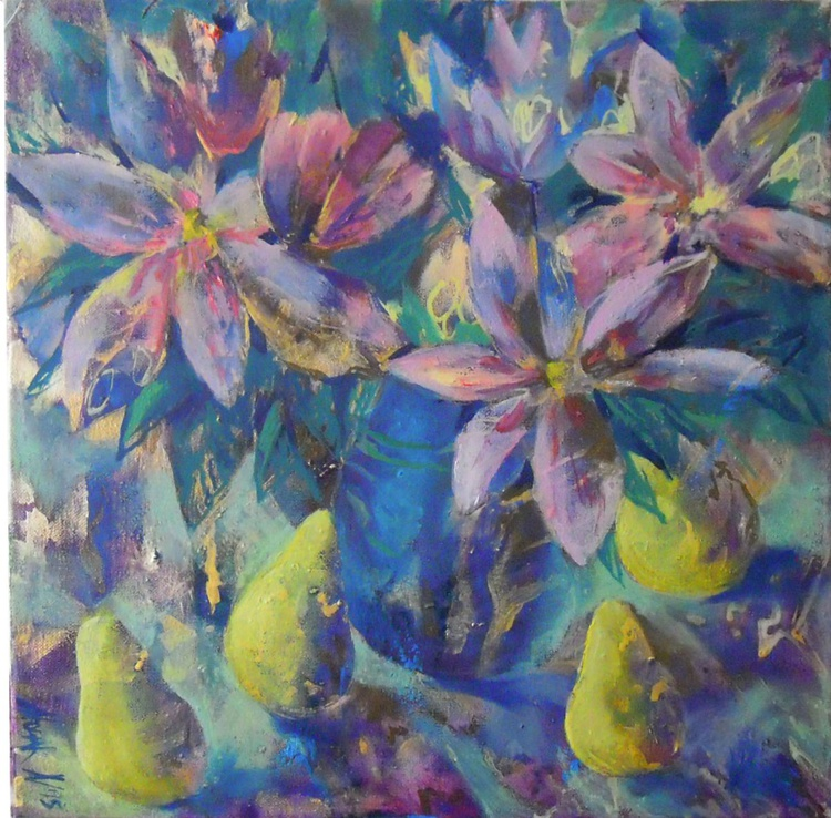 Magnolias and pears - Image 0