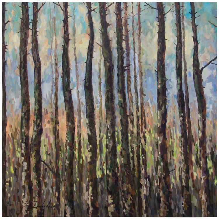 Pines  (100x100cm) - Image 0