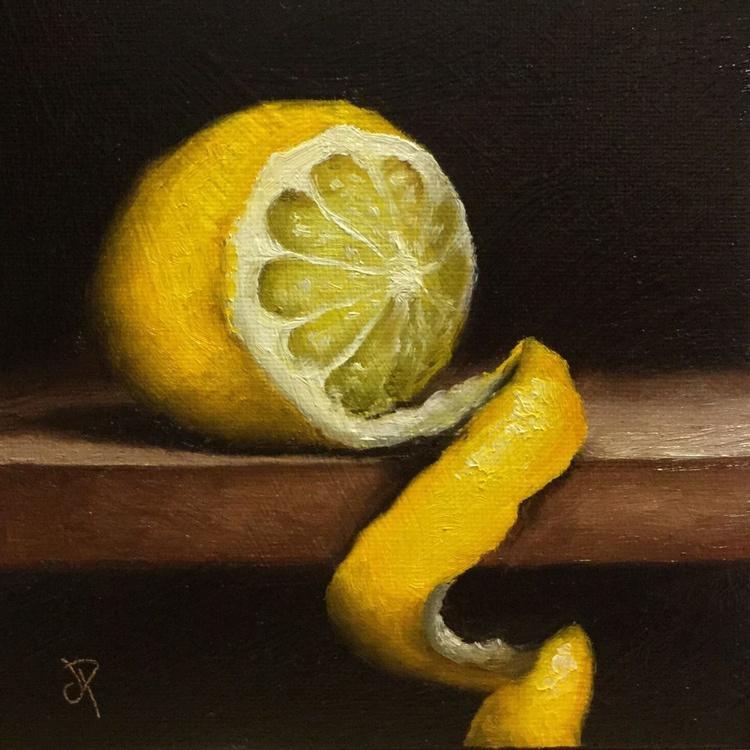 Peeled Lemon No. 2 - Image 0