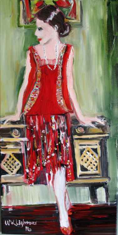 Lady in Red -